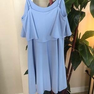 Express Dresses - Light Blue Express Dress